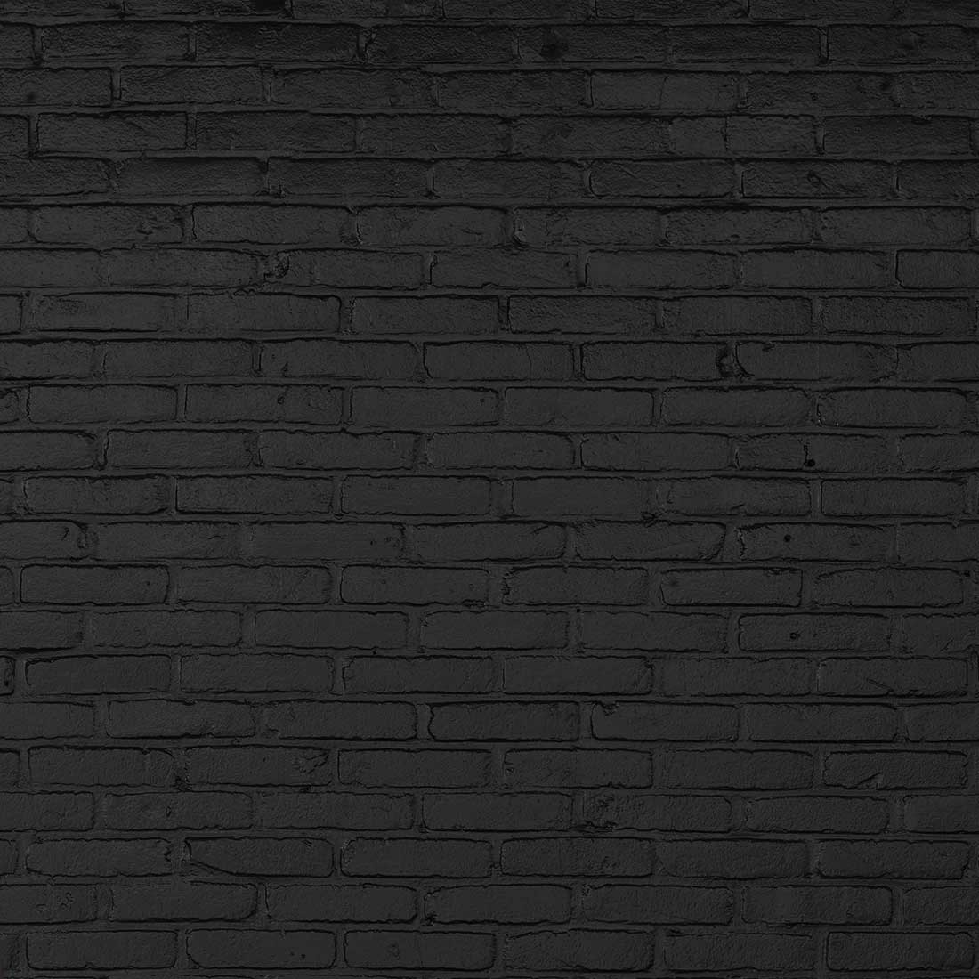 Black brick wallpaper by piet hein eek beyond home for Black 3d brick wallpaper