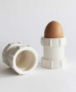 Stolen Form Set of 2 Pipe Egg Cups