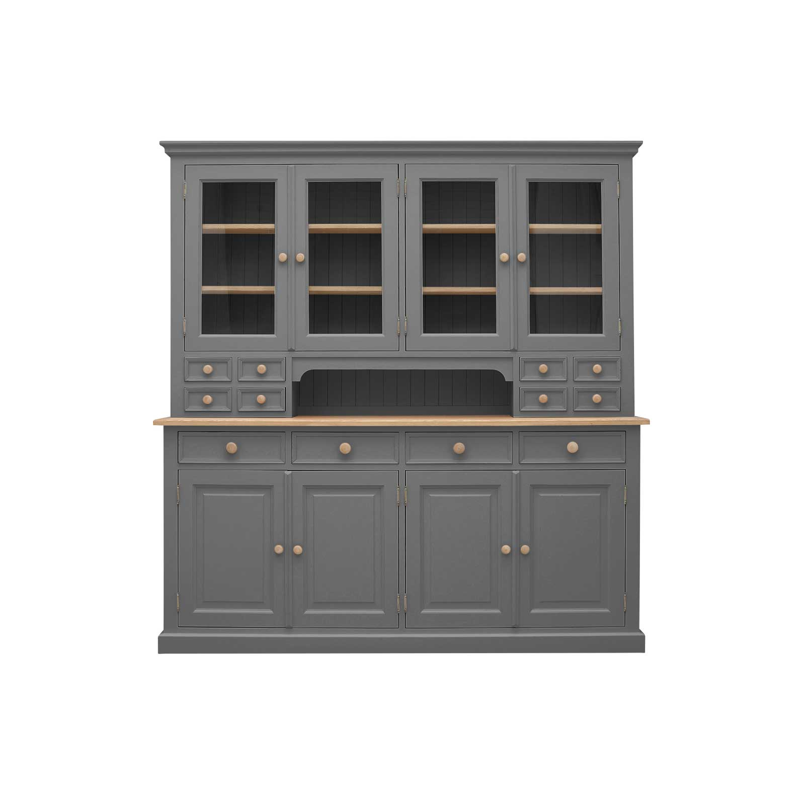 Soho Dark Grey Painted Frith Large Dresser_1