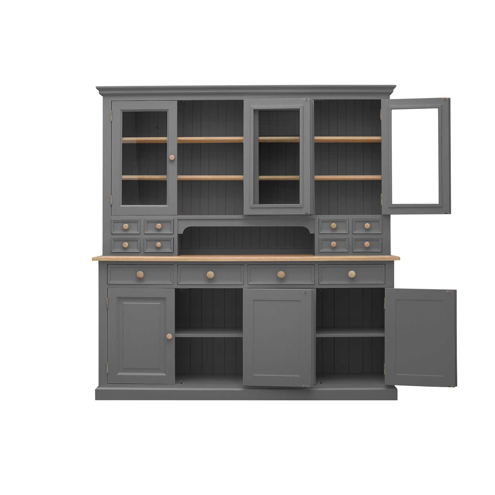 Dark Grey Painted Frith Large Dresser_2
