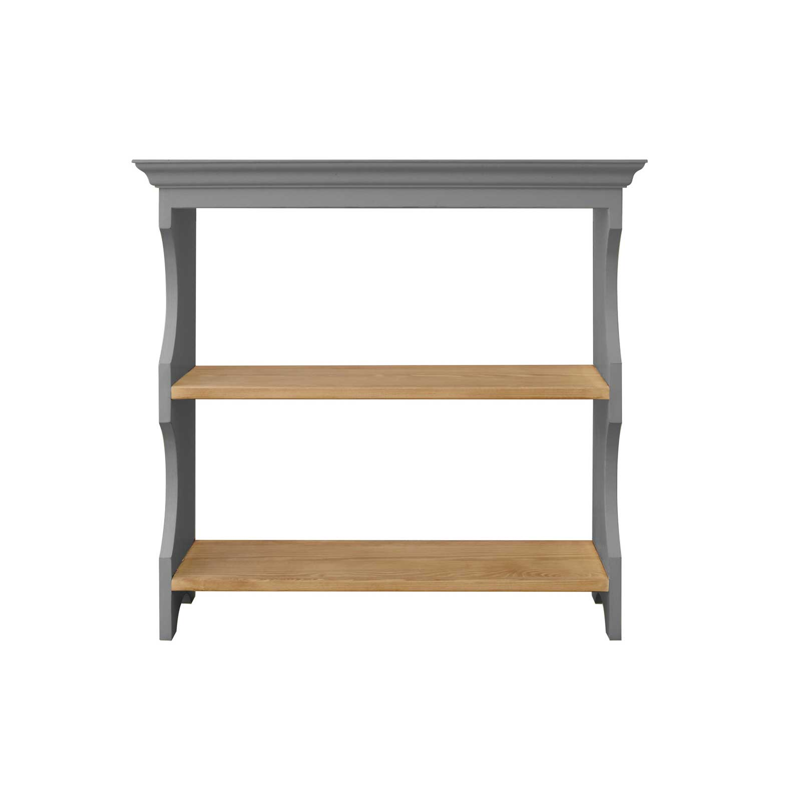 Soho Dark Grey Painted Wall Hanging Shelf_1