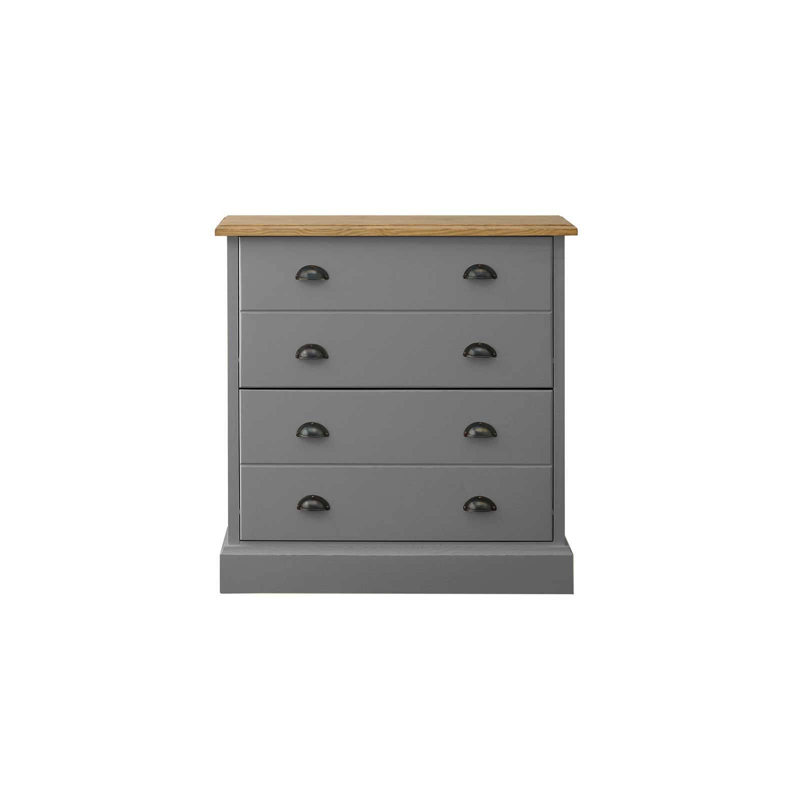 Soho Dark Grey Painted Small Shoe Rack_1