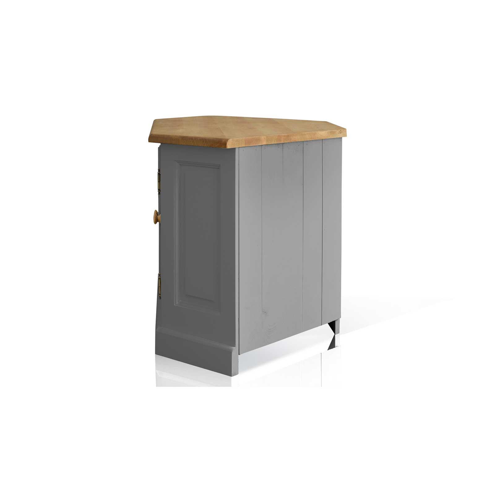 Soho Painted Glazed Corner TV Cabinet