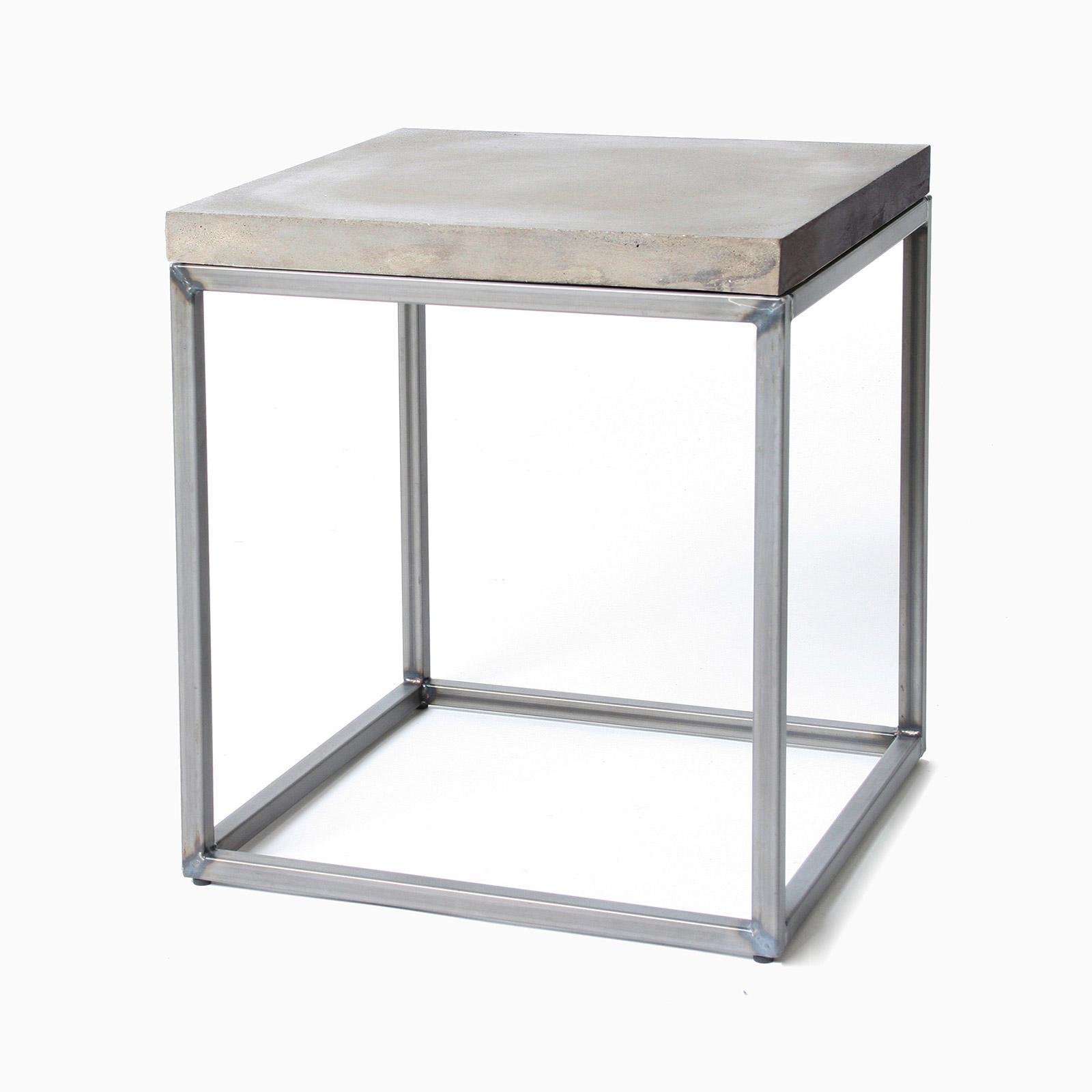 lyon beton concrete perspective side table beyond home. Black Bedroom Furniture Sets. Home Design Ideas