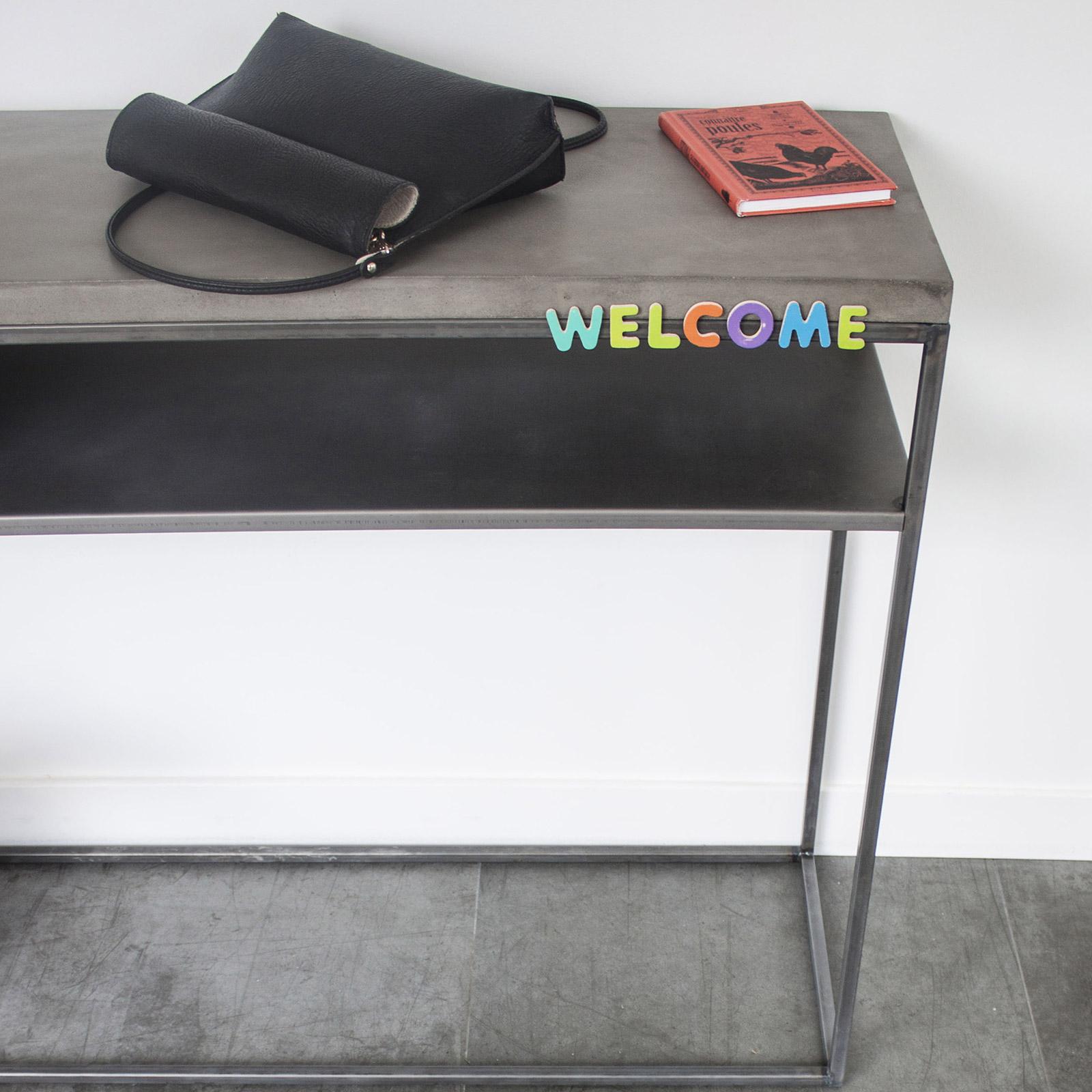lyon beton console table basse relevable. Black Bedroom Furniture Sets. Home Design Ideas