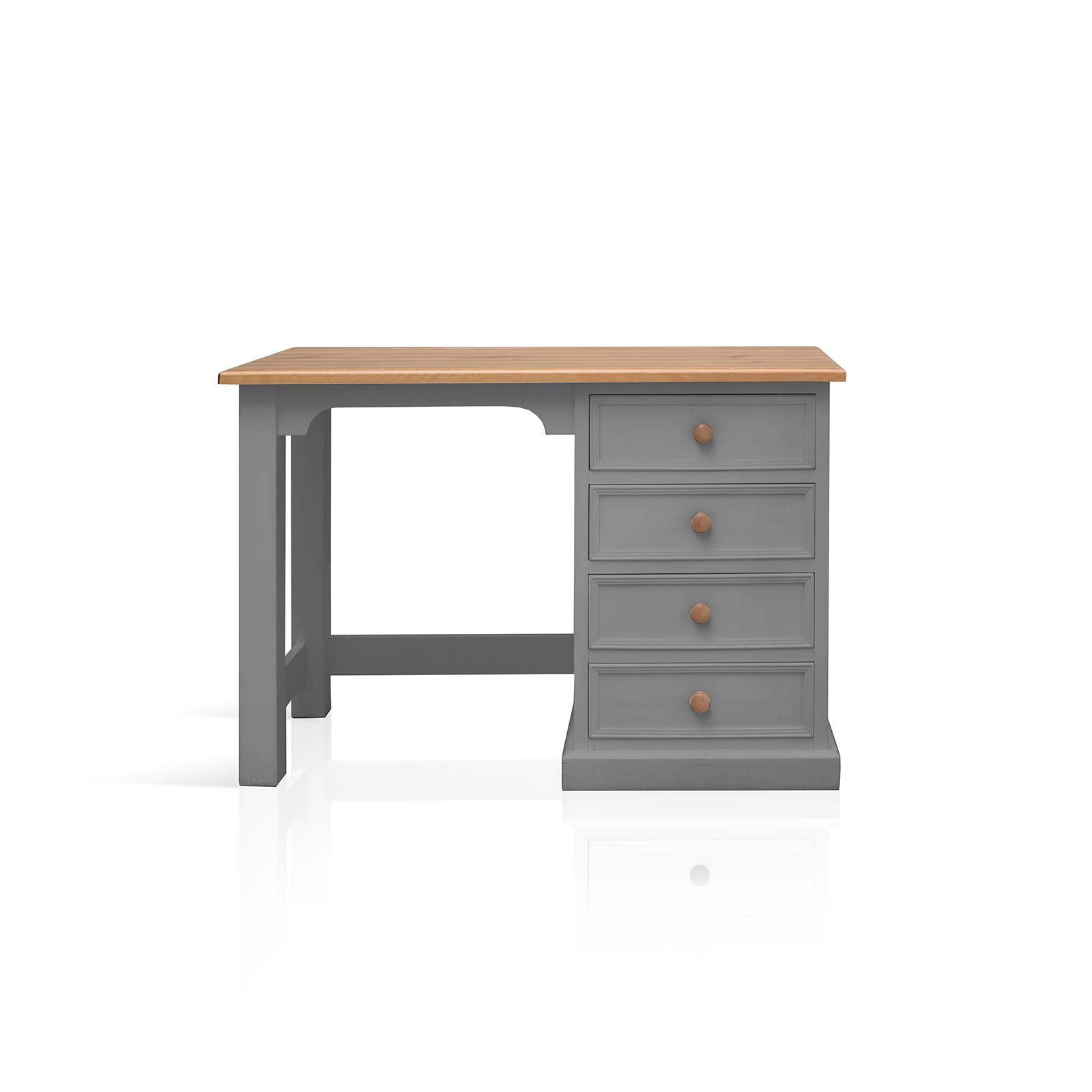 Beyond Home The Soho Painted Furniture Collection Small Dressing Table in Grey
