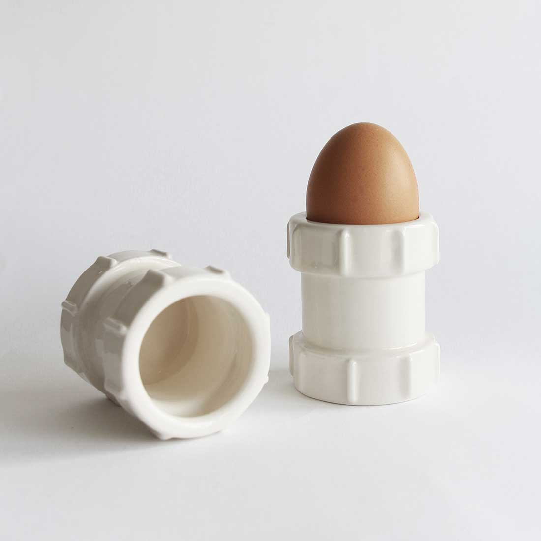 Stolen Form Set of 2 Pipe Egg Cups