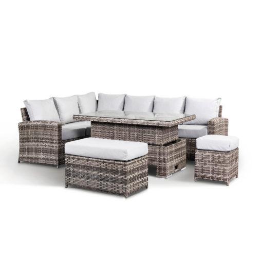 Beyond Home_Sloane Garden Lounge Set in Grey