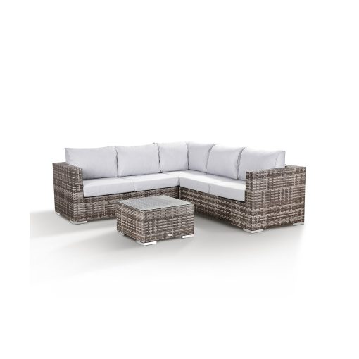 Colette Garden Lounge Corner Sofa with Coffee Table